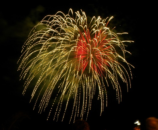fuochi artificio